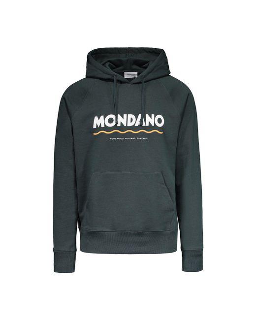WOOD WOOD - Green Raffi Knitted Hoodie Sweatshirt for Men - Lyst
