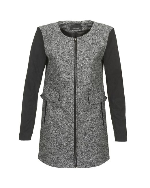 ONLY - Gray Lydia Coat - Lyst