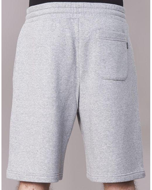 da3254b26420 ... Lyst Converse - Gray Star Chevron Graphic Short Men s Shorts In Grey  for Men ...