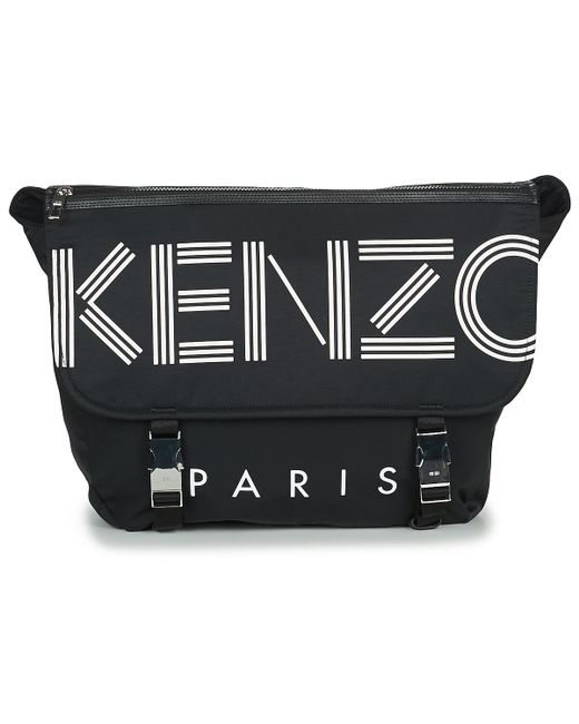 22f9e0846 KENZO - Black Sport Messenger Messenger Bag for Men - Lyst ...
