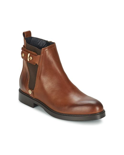 Tommy Hilfiger | Brown Holly 3a Low Ankle Boots | Lyst
