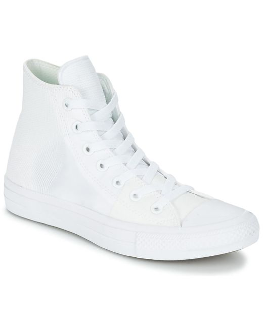 Converse - White Chuck Taylor All Star Ii - Hi Shoes (high-top Trainers) - Lyst