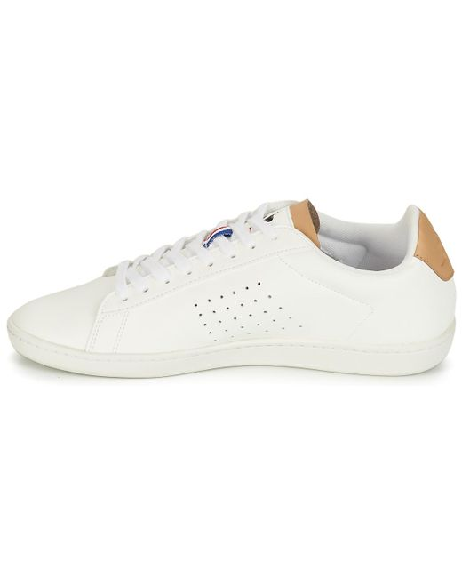 9aacb488c0 ... Le Coq Sportif - White Courtset Shoes (trainers) for Men - Lyst ...