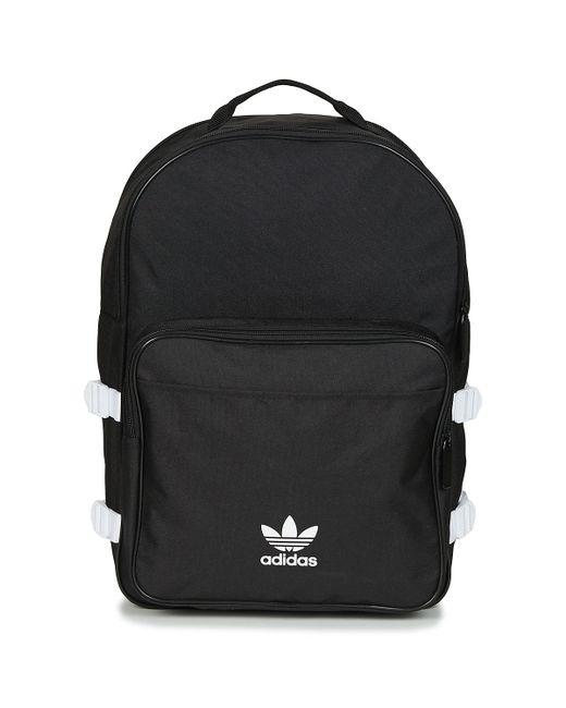 Adidas - Black Bp Essential Backpack for Men - Lyst ... 683196fe90835