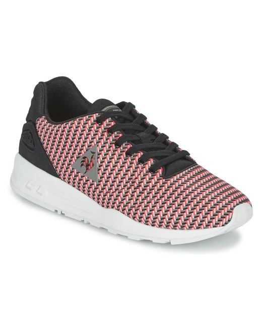 Le Coq Sportif | Red Lcs R9xx Geo Jacquard Shoes (trainers) for Men | Lyst