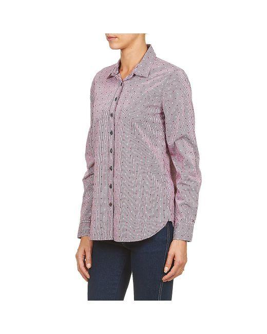 ... Tommy Hilfiger | Pink Fern Shirt | Lyst ...