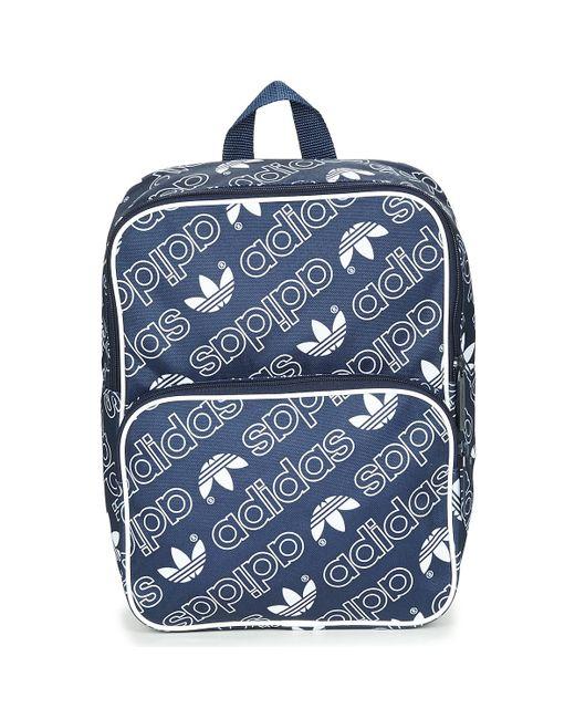 89ce56ae2404 Adidas - Blue Bp Cl M Ac Gr Backpack - Lyst ...