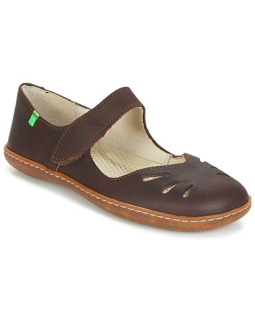El Naturalista | Brown El Viajero Shoes (pumps / Ballerinas) | Lyst