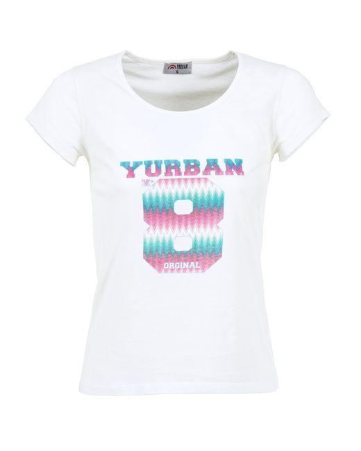 Yurban - White Eretole T Shirt - Lyst