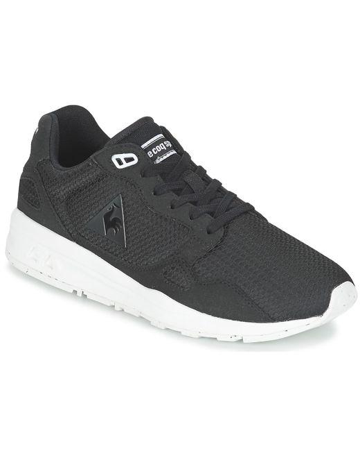 Le Coq Sportif | Black Lcs R900 Woven Jacquard Shoes (trainers) for Men | Lyst