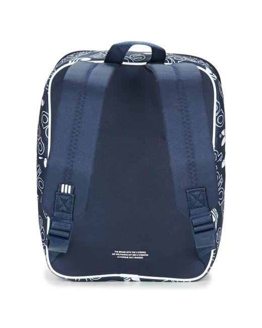 c88adc33fd7d ... Adidas - Blue Bp Cl M Ac Gr Backpack - Lyst ...