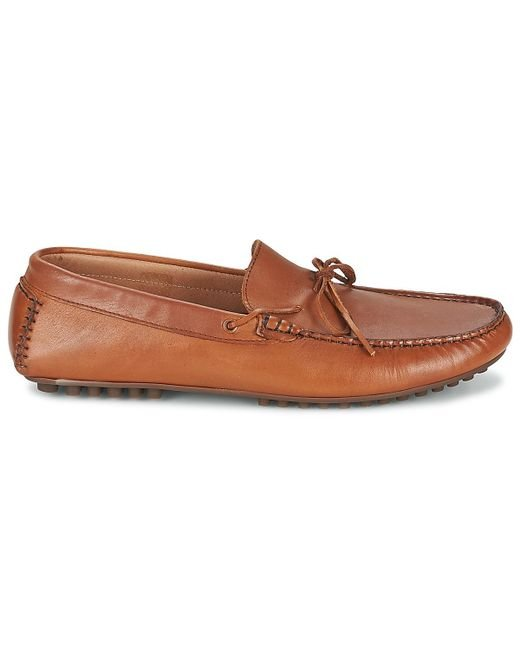 cac77be14e3 ... Hudson - Brown Felipe Loafers   Casual Shoes for Men - Lyst ...
