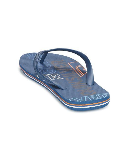 d66b42f1c2fd ... Quiksilver - Blue Molokai Nitro M Sndl Xbbb Flip Flops   Sandals  (shoes) for ...