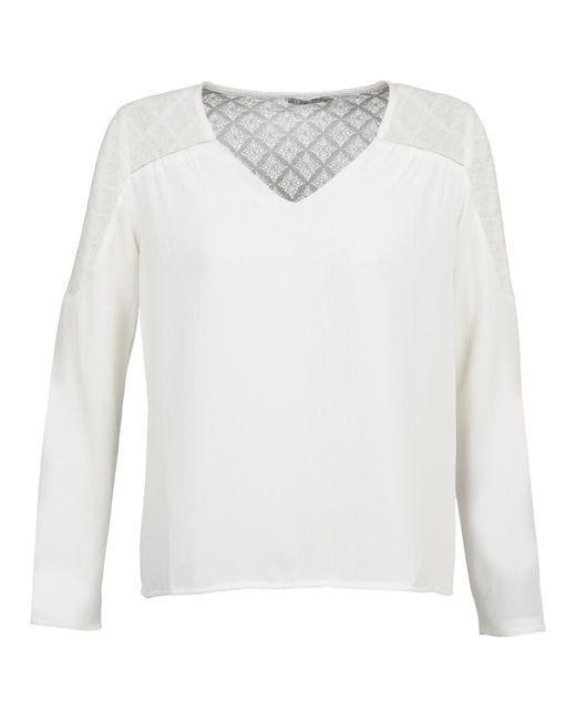 Betty London - White Dhope Blouse - Lyst