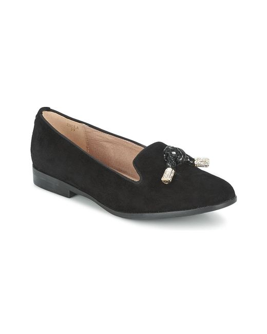 Moda In Pelle - Black Enola Loafers / Casual Shoes - Lyst