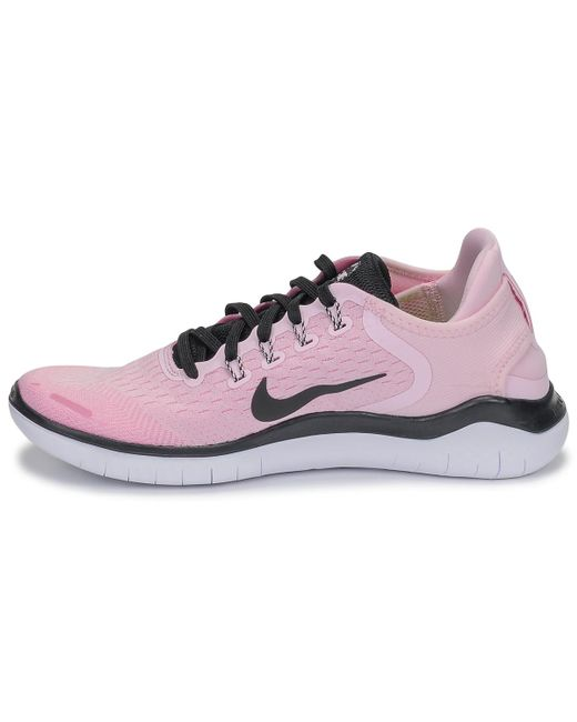 9dc864727b43 ... Nike - Pink Free Rn 2018 Running Trainers - Lyst ...
