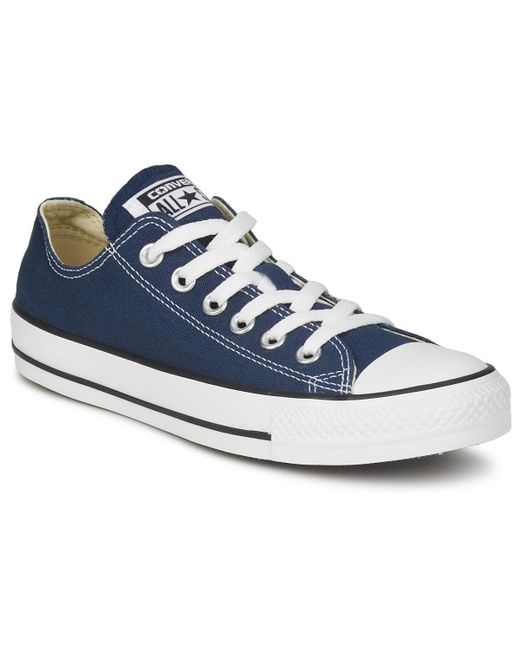 Converse - Blue All Star Core Ox Shoes (trainers) for Men - Lyst