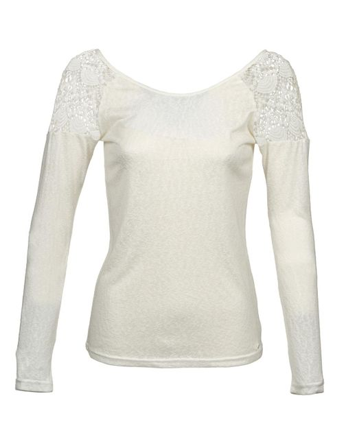 Les P'tites Bombes - White Luccata Sweater - Lyst