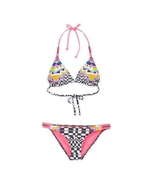 Rip Curl - Multicolor Cancun Triset Bikinis - Lyst