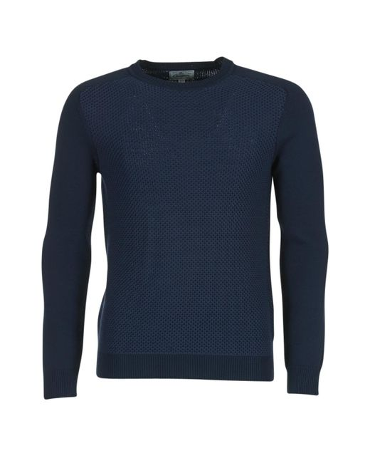 Chevignon - Blue Pull U-bump Sweater for Men - Lyst