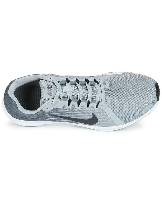 48323cc4e1200 ... Lyst Nike - Gray Downshifter 8 Men s Running Trainers In Grey for Men  ...