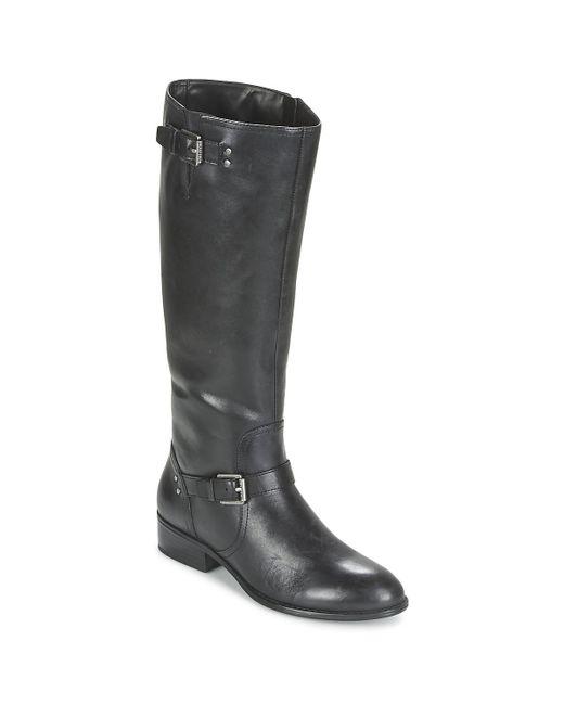 Ralph Lauren - Black Marrona High Boots - Lyst