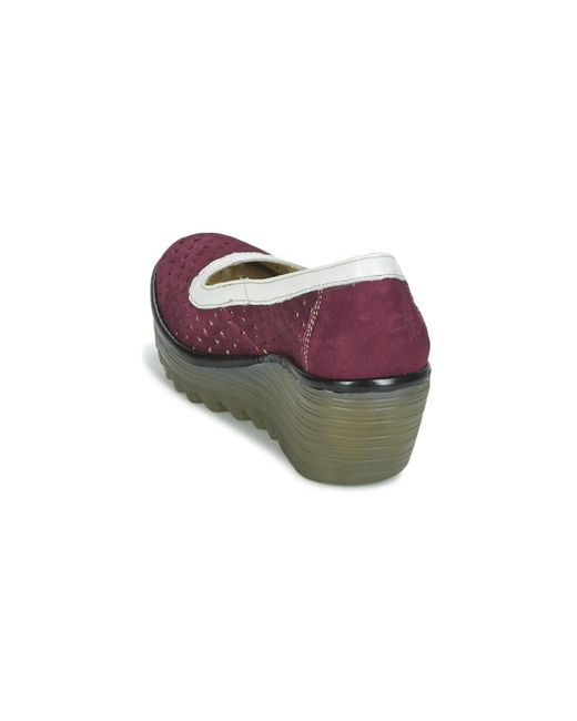 Shoes Lyst London Red Court Yare597fly Fly In qA6SBw