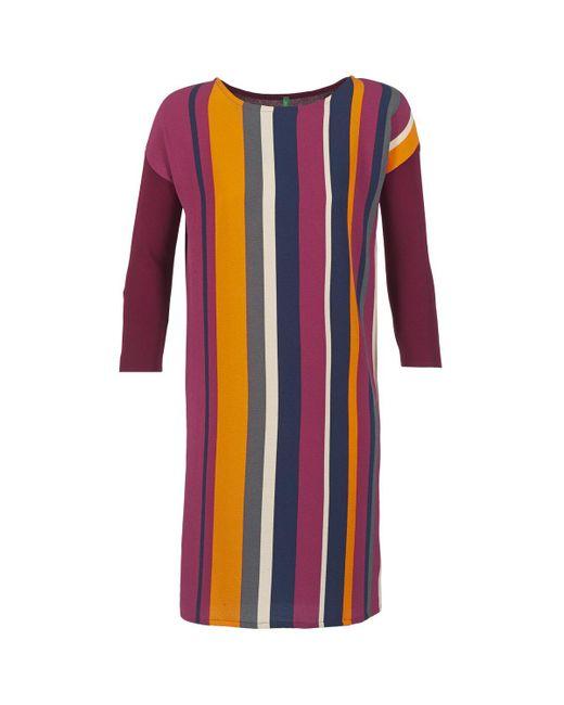 Benetton - Red Vagoda Dress - Lyst