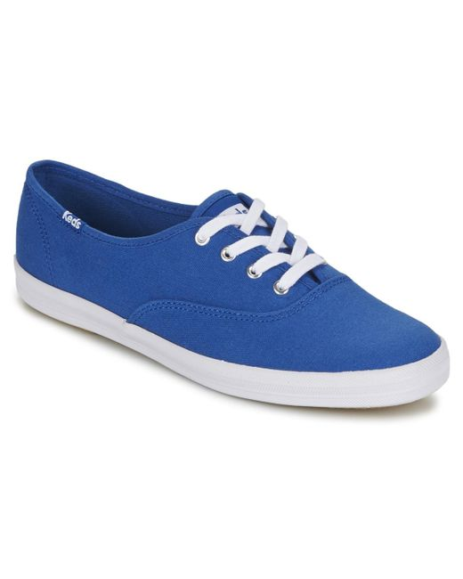 Keds - Blue Champion Seasonal Solids Shoes (trainers) - Lyst