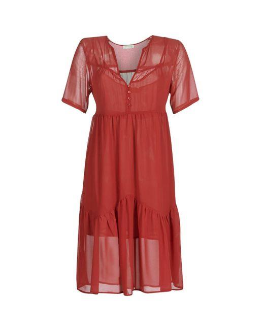 See U Soon Red Garagace Dress