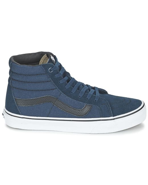 c3bacd9d308844 Vans Sk8-hi Reissue Shoes (high-top Trainers) in Blue for Men - Lyst