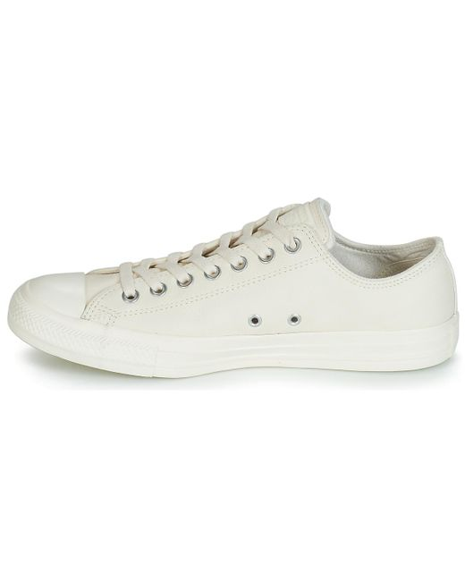 064f361a2359 ... Converse - Natural Chuck Taylor All Star Leather Ox Shoes (trainers)  for Men ...