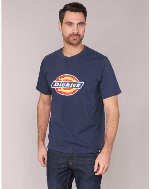833479be839 Dickies Horseshoe Tee Men s T Shirt In Blue in Blue for Men - Save ...