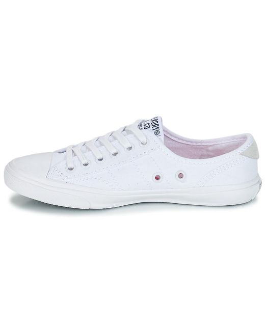 9b8636edbfd4e ... Lyst Superdry - Low Pro Sneaker Women s Shoes (trainers) In White ...