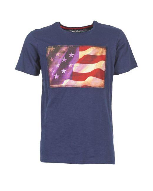 Best Mountain - Blue Florda T Shirt for Men - Lyst