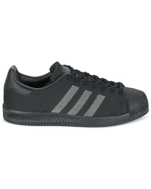 601d9ea2d ... low cost adidas black superstar bounce shoes trainers for men lyst  45028 380f1