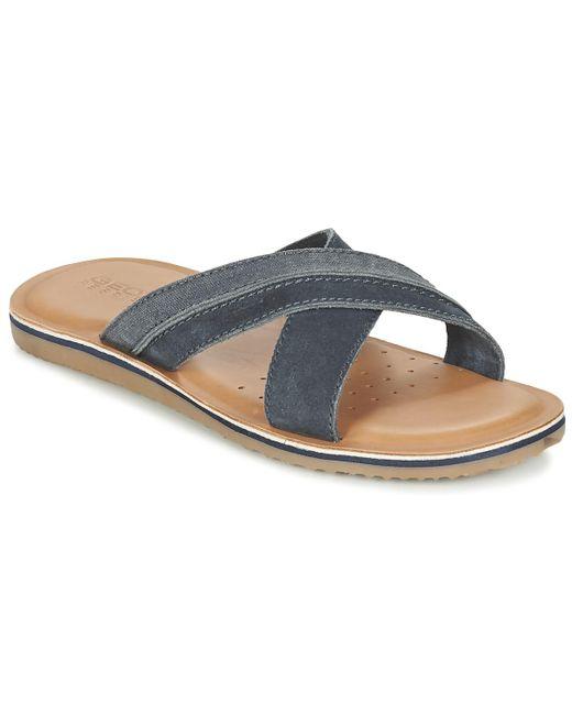Geox | Blue U Artie D Mules / Casual Shoes for Men | Lyst