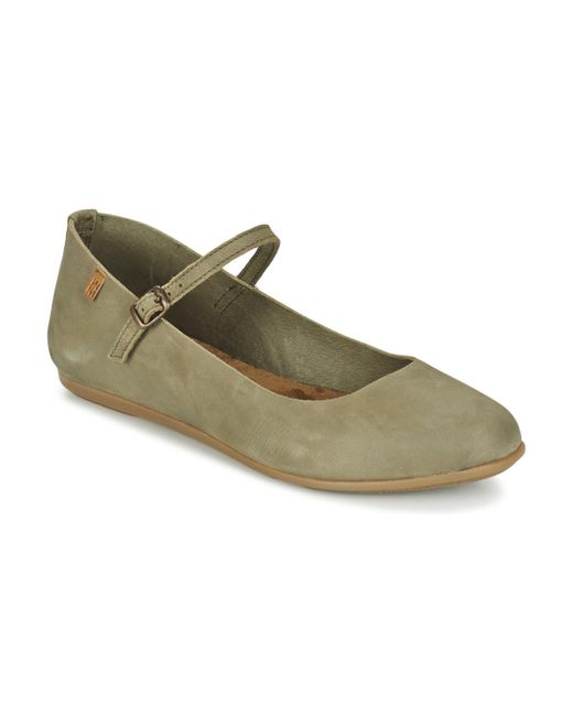 El Naturalista - Gray Stella Shoes (pumps / Ballerinas) - Lyst