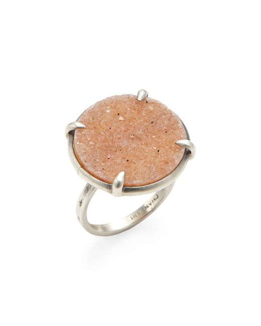 Chan Luu - Brown Agate Disc Statement Ring - Lyst