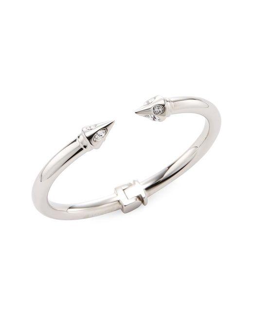 Vita Fede - Metallic 24k White Gold Plated Mini Titan Asteria Crystal Bracelet - Lyst