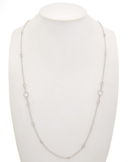 Judith Ripka - Metallic Casablanca Silver Necklace - Lyst