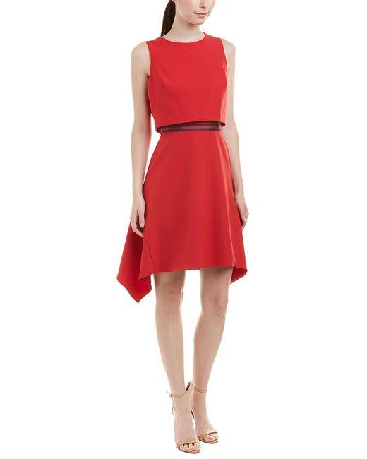 Julia Jordan - Red A-line Dress - Lyst
