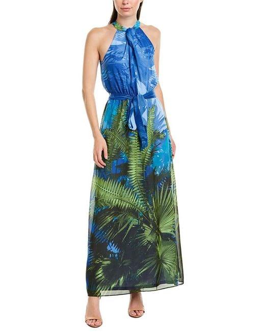 Julia Jordan Blue Maxi Dress