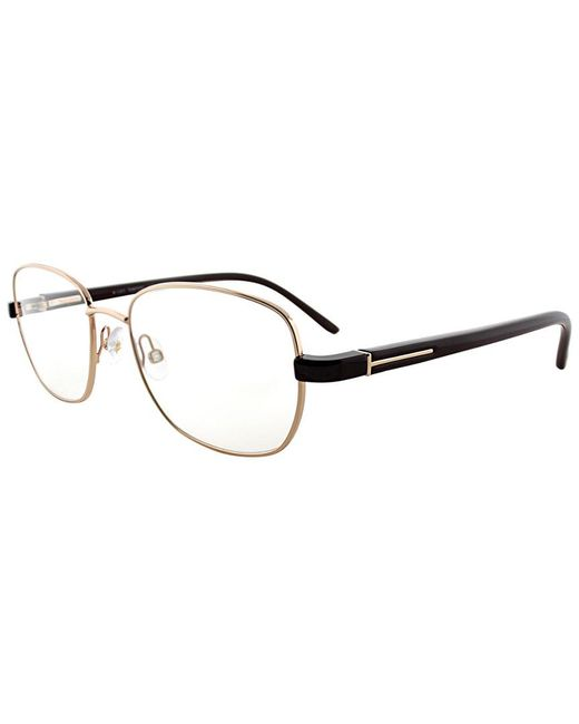 75b1532f04eb Tom Ford - Brown Unisex Ft 5152 28a 54mm Optical Frames - Lyst ...
