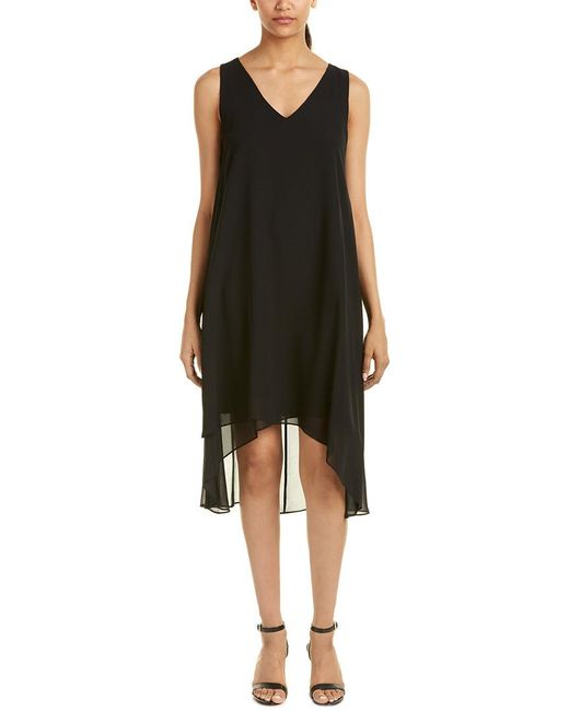 Tahari | Black Tahari Asl Shift Dress | Lyst