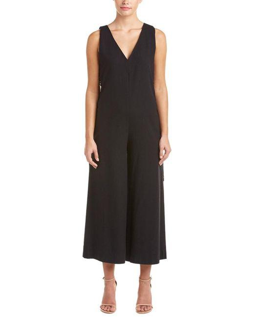 Rachel Zoe - Black Leslie Silk Jumpsuit - Lyst