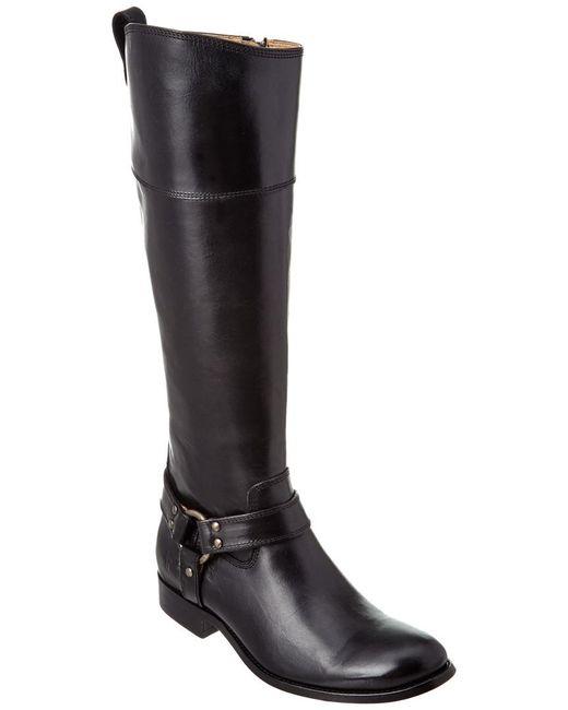 Frye - Black Melissa Harness Leather Boot - Lyst