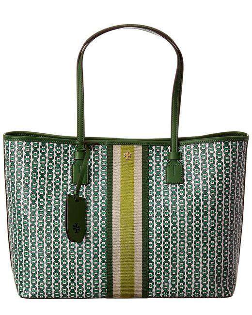 Tory Burch - Green Jemini Tote Bag - Lyst