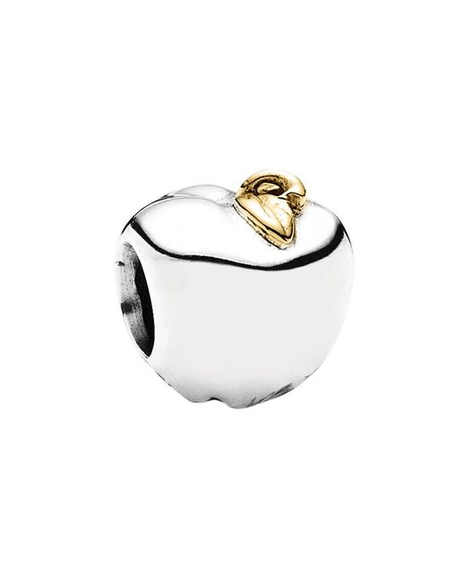 Pandora - Metallic Apple 14k & Silver Charm - Lyst