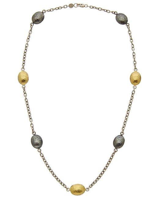Gurhan - Metallic Jordan 24k & Silver Necklace - Lyst